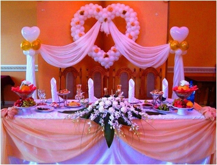 Как украсить столы на свадьбу 68